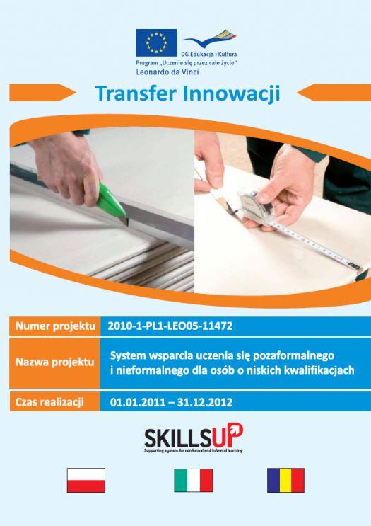 Projekt Leonardo da Vinci Transfer Innowacji