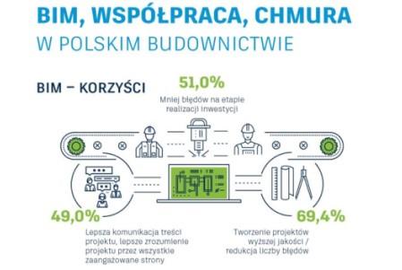 BIM, Współpraca, Chmura w Polskim budownictwie
